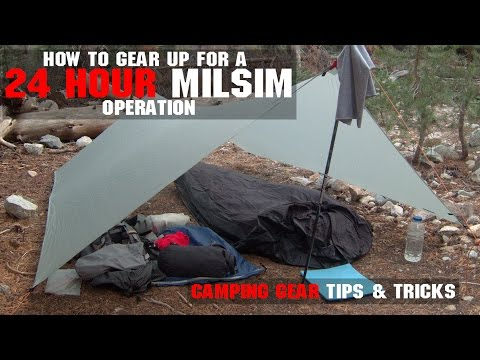 How To Gear Up For A 24 Hour MilSim OP | Part 2 Camping Gear | AirsoftGI.com