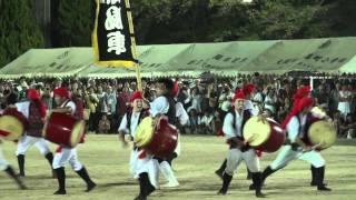 撮影:2011年9月11日※大阪市大正区千島公園グランド※多くの太鼓がシンク...