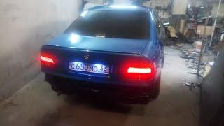 Обзор моей BMW e39.Покраска крышы авто.