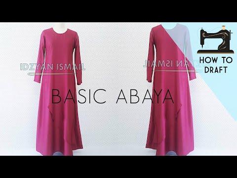 How to Draft Maxi Dress | Maxi Dress Pattern | DIY Abaya