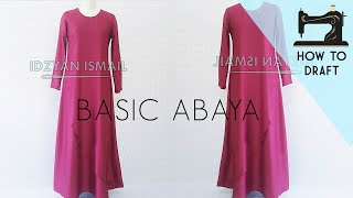 How to Draft Maxi Dress   Maxi Dress Pattern   DIY Abaya