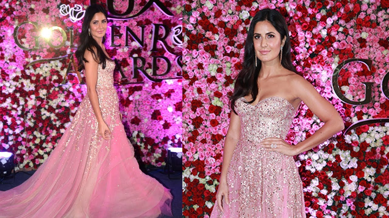 30174b1d00 Beautiful Katrina Kaif in Strapless Sexy Gown at LUX Golden Awards ...