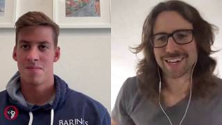 Swimming From Home Talk Show: Michael Chadwick on Finding Positives