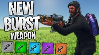 MY THOUGHTS ON THE NEW BURST WEAPON! (Fortnite Mobile Season 4)