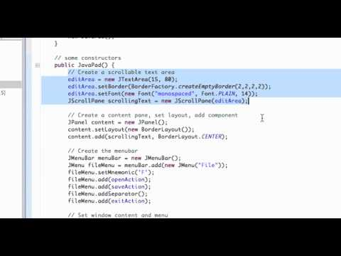 Java tutorial lectures.