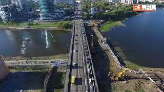 Макаровский мост на реконструкции