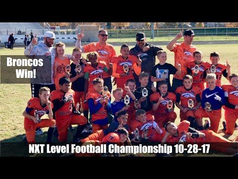 NXT Level Football League Championship 10-28-2017