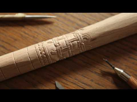 Making an Authentic Viking Shield, part 4: Edging & Handle