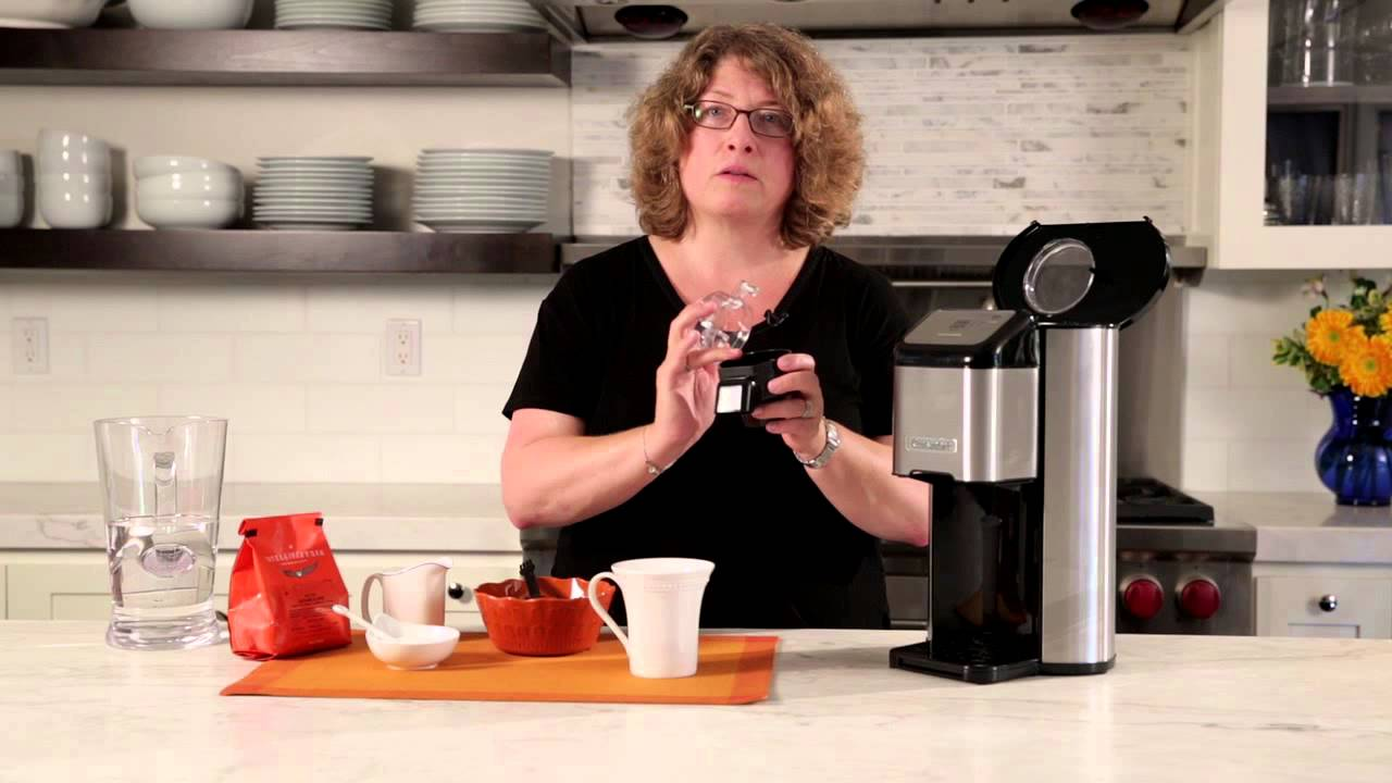 Cuisinart Coffee Maker Quit Brewing : Single Cup Grind & Brew Coffeemaker (DGB-1) Demo - YouTube