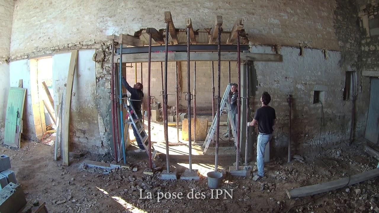 Faire Une Fenetre Dans Un Mur Porteur Prix ouverture de 3 mètres dans mur porteur. www.lapicousienne.fr