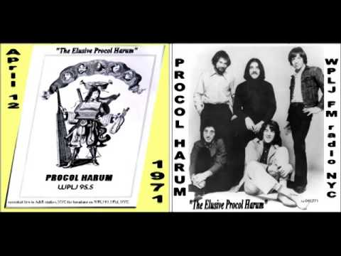 Procol Harum WPLJ 1971