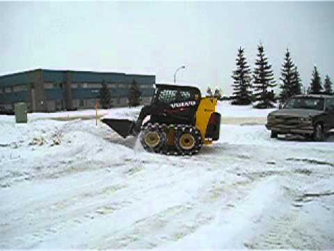 Volvo Skid Steer Snow Removal Tracks 2 Right Track