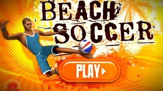 Beach Soccer - Miniclip Flash game Gameplay by Magicolo