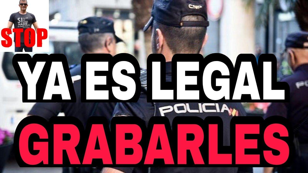 NUEVA SENTENCIA CONSTITUCIONAL - PERMITE GRABAR SIEMPRE A LA POLICÍA - YA ES LEGAL GRABARLES