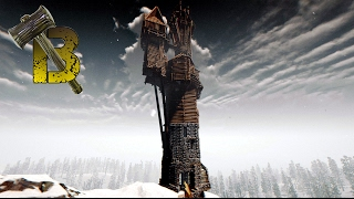 The Forest - The polar tower concept (creativ mode)