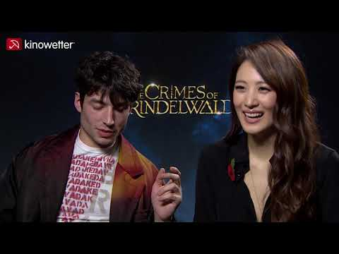 Ezra Miller & Claudia Kim  FANTASTIC BEASTS: THE CRIMES OF GRINDELWALD