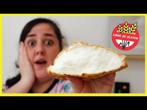 PAN NUBE con 3 INGREDIENTES | Cloud bread receta viral de TikTok (sin queso crema) ¿Funciona?
