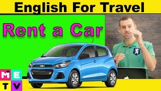 English for Travel |How to Rent a Car