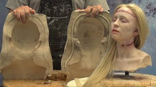 Casting A Silicone Head With PlatSil Gel-10 & PolyFoam