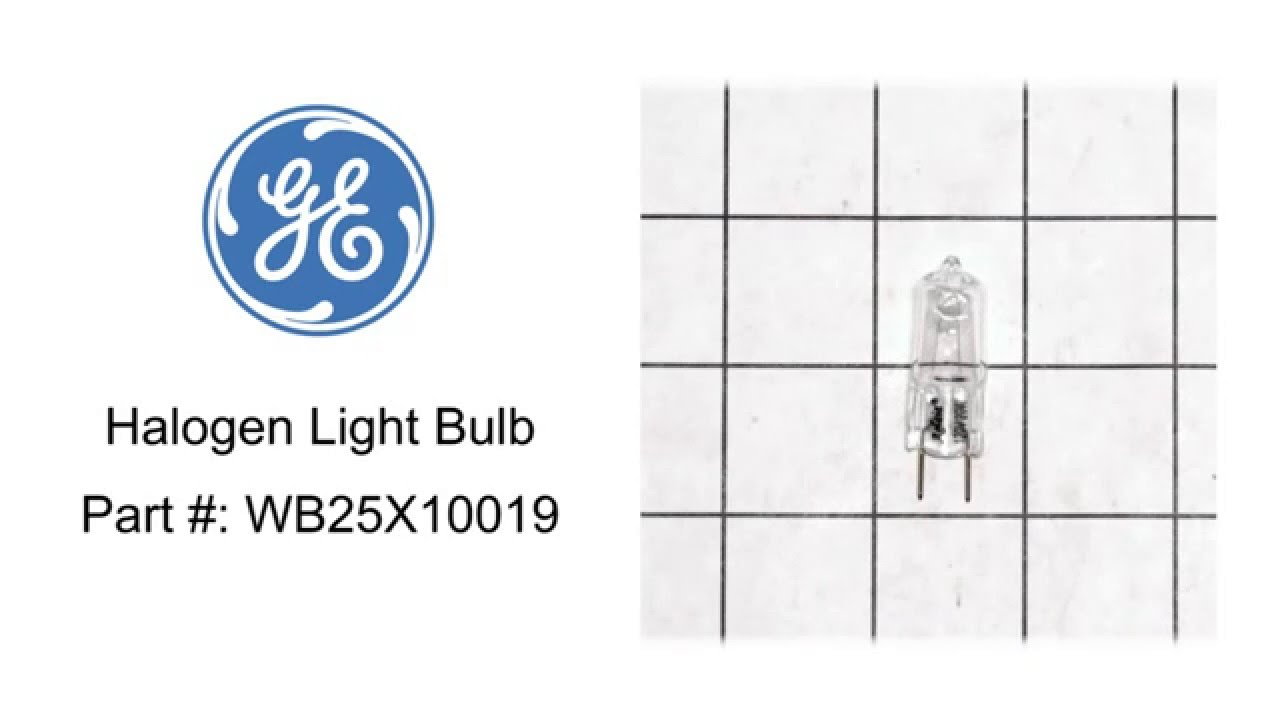 General electric microwave halogen light bulb part wb25x10019 general electric microwave halogen light bulb part wb25x10019 aloadofball Gallery