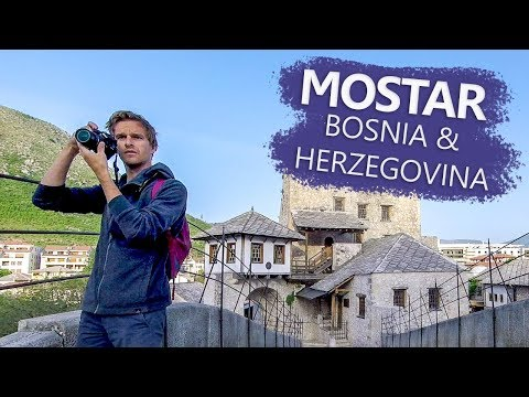 Mostar's Stari Most Bridge All To Ourselves! | Bosnia and Herzegovina Travel Vlog