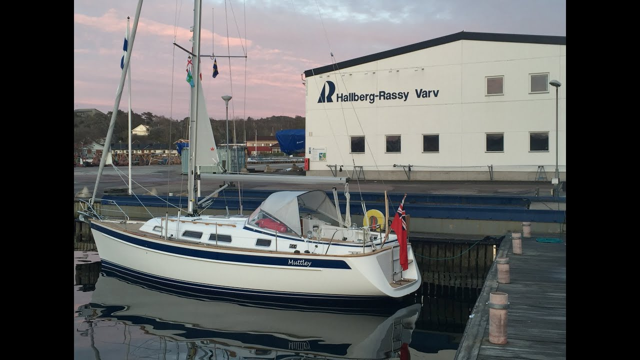 The Yacht Delivery of a Hallberg-Rassy 342 - Ellos to Falmouth