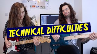 RACER X TECHNICAL DIFFICULTIES - Duo Guitar Cover