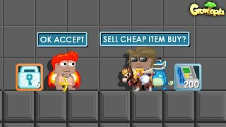 TROLLING SCAMMER ATM MACHINE GOT SCAMMED ?! GROWTOPIA