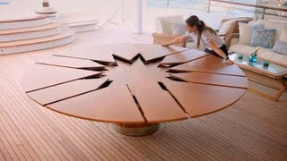 The World Most Expensive Table $50,000 Expanding Table