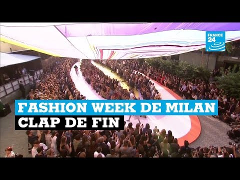 Clap de fin pour la Fashion Week de Milan