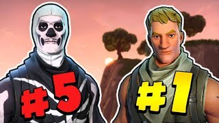 My Top 5 Favorite Fortnite Skins - FaZe Tfue