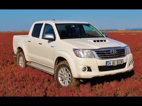 test toyota hilux 4x4 youtube. Black Bedroom Furniture Sets. Home Design Ideas