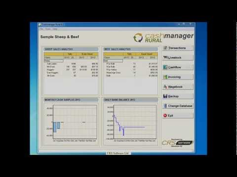 Cashmanager RURAL - How to Enter Direct Credit Transactions