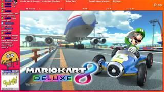Mario Kart 8 Deluxe Race and Fortnite w/ Raineykins [8/9/18]