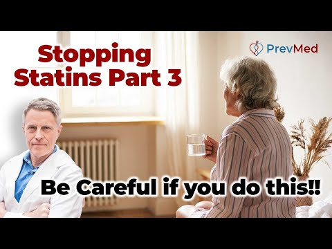 Stopping Statins Part 3: Be Careful if you do this!!