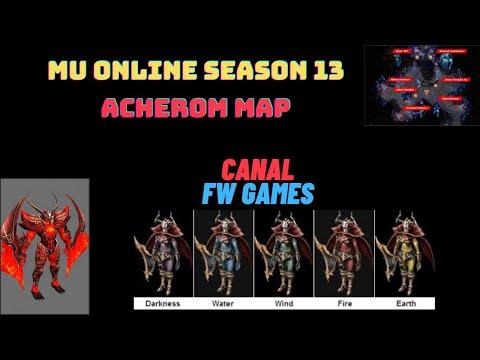 Mu Online (Acheron Map )