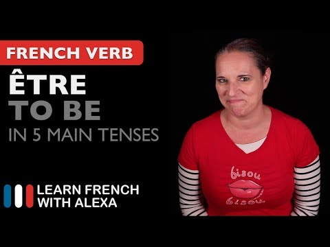 Être (to be) in 5 Main French Tenses