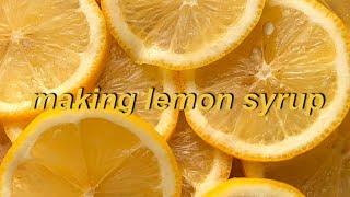 (학생베이킹)초간단 여름에 먹을수 있는 레몬청만들기 /…