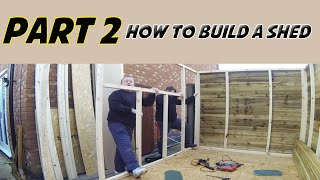 How To Build A Shed Part 2