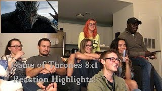 Game of Thrones 8x1: Winterfell Reaction Highlights!