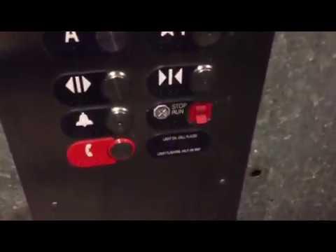 EPIC MOTOR ALERT: OTIS Hydraulic Elevator @ Bristol Farms Beverly Hills