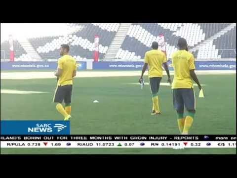 Bafana clash with Mauritania in AFCON Cup, Nelspruit