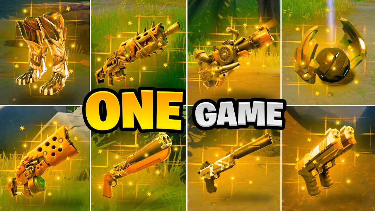 I Won A Game With All 10 Mythic Weapons! Boss Spire, Agent Jonesy, Raven, Cluck, Burnout, Raz