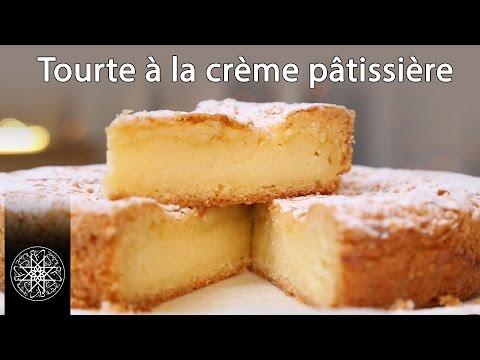 choumicha-:-tourte-à-la-crème-pâtissière---gâteau-basque-(vf)