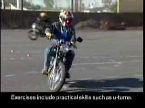 Motorcycle Safety Foundation Basic Ridercourse Highlights Youtube
