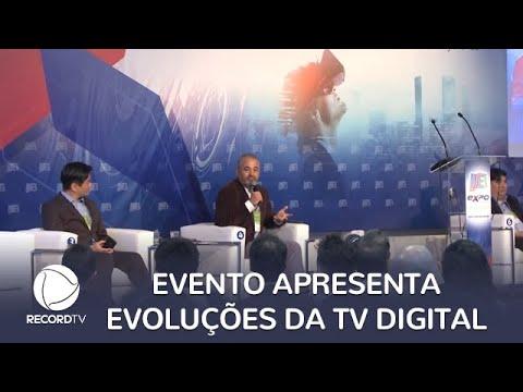 Evento de tecnologia apresenta as evoluções da TV digital