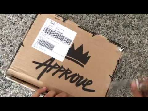 Comprei na Just Approve - Unboxing - Pitchul Explict
