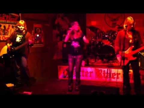 Suzie Hatton, of Fired Up, sings Pat Benatar's