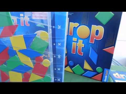 Drop It - presentazione del gioco e partita demo