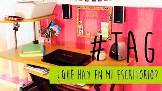 ¿QUÉ HAY EN MI ESCRITORIO? | #TAG | CAROLITHO